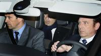 Nicolas Sarkozy quitte le palais de justice de Bordeaux, le 21 mars 2013 [Patrick Bernard / AFP]