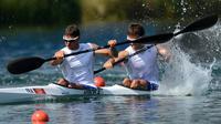 Les Français engagés samedi dans les finales du canoë-kayak aux jeux Olympiques de Londres n'ont pas réussi à décrocher une médaille: Mathieu Goubel a pris la 7e place en C1, Maxime Beaumont (K1) a terminé à trois centièmes du podium et Arnaud Hybois et Sébastien Jouve (K2) terminent 4e.[AFP]