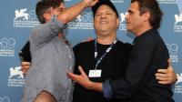 """Tragédie gréco-sicilienne samedi sur le Lido avec le premier film italien en compétition, """"E stato il figlio"""" de Daniele Cipri, qui s'est retrouvé face à une grosse production américaine au casting hollywoodien inspirée du fondateur de l'église de scientologie Ron Hubbard.[AFP]"""