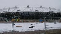 Le stade olympique de Londres, le 25 janvier 2013. [Andrew Cowie / AFP]