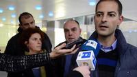 Asier Gonzalez, le frère de Yolanda Gonzalez, le 8 mars 2013 à Madrid [Javier Soriano / AFP]