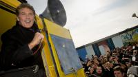 L'acteur de séries américaines David Hasselhof, le 17 mars 2013 à Berlin [Odd Andersen / AFP]