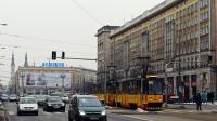 La rue Marszalkowska dans le centre de Varsovie, le 22 mars 2013 [Janek Skarzynski / AFP]