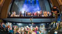 Des fans visitent la scène du Festival de Bayreuth, le 19 mai 2013 [David Ebener / DPA/AFP/Archives]