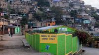 Vue de Las Ayestas, à Tegucigalpa le 5 février 2013 [Orlando Sierra / AFP]