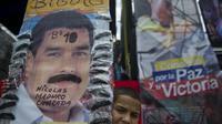 Un jeune partisan du président élu Nicolas Maduro à Caracas, au Venezuela, le 17 avril 2013 [Raul Arboleda / AFP]