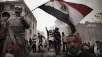 Photo de Marco Longari prise lors de manifestations au Caire le 6 février 2012 [Marco Longari / AFP/Archives]