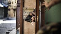 Des soldats de l'Armée syrienne libre (ASL) à Alep, le 16 septembre 2012 [Marco Longari / AFP/Archives]