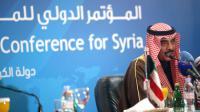 Le ministre des Affaires étrangères du Koweït, cheikh Sabah al-Khaled Al-Sabah, lors d'une conférence de presse sur la Syrie, le 29 janvier 2013 au Koweït City [Yasser al-Zayyat / AFP]