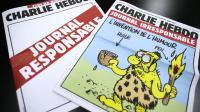 Les deux journaux de Charlie Hebdo publiés le 25 septembre 2012 [Kenzo Tribouillard / AFP]