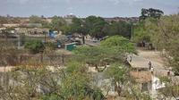 Vue du port de Kismayo, en Somalie, le 28 septembre 2012 [Stringer / AFP]