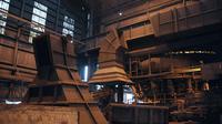 A l'intérieur de l'usine ArcelorMittal de Florange, le 20 novembre 2012 [Jean-Christophe Verhaegen / AFP/Archives]