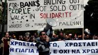 Manifestation contre l'austérité à Athènes, le 23 novembre 2012 [Aris Messinis / AFP/Archives]