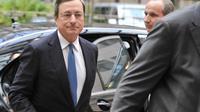 Le patron de la Banque centrale européenne, Mario Draghi, le 26 novembre 2012 à Bruxelles [Georges Gobet / AFP]