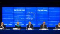 Conférence de presse à l'issue de la réunion de la zone euro à Bruxelles, le 26 novembre 2012 [Jock Fistick / Pool/AFP/Archives]