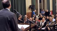 Le président proclamé mais contesté de l'UMP Jean-François Copé, à Chartres le 10 décembre 2012 [Mehdi Fedouach / AFP]