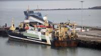 Le Maartje Theadora, le 13 décembre 2012 dans le port de Cherbourg [Charly Triballeau / AFP/Archives]