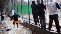 Des détenus à la prison des Baumettes, en octobre 2012 à Marseille [Gregoire Korganow / Contrôleur général des lieux de privation de liberté/AFP/Archives]