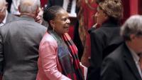 La ministre de la Justice Christiane Taubira à l'Assemblée nationale à Paris le 5 février 2013