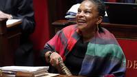 Christiane Taubira le 7 février 2013 à l'Assemblée nationale à Paris [Pierre Verdy / AFP]