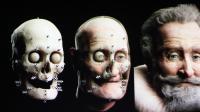 Photomontage réalisé le 12 février 2013 de la reconstruction du crâne de Henri IV [Loic Venance / AFP]