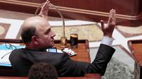 Le ministre de l'Economie, Pierre Moscovici, le  12 février 2013 à l'Assemblée à Paris [Jacques Demarthon / AFP]