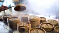 Des petits paniers contenant des dim sum, des raviolis chinois, le 27 mars 2013 dans un restaurant à Paris [Martin Bureau / AFP]