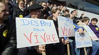 Manifestation d'agriculteurs le 12 avril 2013 à Feurs [Philippe Desmazes / AFP]