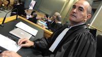 Le procureur Pierre Bellet lors du procès en appel de Thierry Tilly, le 22 avril 2013 à Bordeaux [Mehdi Fedouach / AFP]
