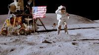 Une série de drapeaux américains plantés sur la Lune par les astronautes qui ont visité le satellite de la Terre il y a plus de quarante ans sont tous encore là, sauf un, a indiqué lundi un scientifique de la Nasa.[NASA]