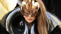 La chanteuse américaine Lay Gaga lors d'une manifestation à New York le 14 septembre 2012 [Timothy A. Clary / AFP/Archives]