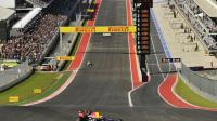 L'Allemand Sebastian Vettel (Red Bull) lors des qualifications du GP des Etats Unis le 17 novembre 2012 à Austin [Timothy A. Clary / AFP]