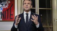 Début d'année chargé pour Emmanuel Macron