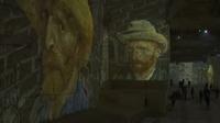 La nuit étoilée de Vincent Van Gogh aux Carrières de Lumières