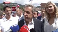 Nicolas Sarkozy loue les mérites de Didier Deschamps