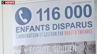 50.000 enfants disparaissent chaque année en France