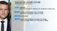 En ouvrant samedi le Salon de l'Agriculture, Emmanuel Macron va prononcer un discours sur sa vision de l'Europe et la politique agricole commune