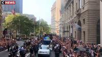 Football féminin : l'équipe américaine parade à New York