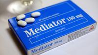 Les laboratoires Servier et l'Agence du médicament renvoyés devant le tribunal dans le volet principal du scandale du Mediator [Fred TANNEAU / AFP/Archives]
