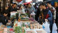 Un marché à Tokyo le 27 novembre 2015 [YOSHIKAZU TSUNO / AFP]