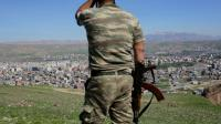Un soldat turc après de violents combats avec des combattants kurdes à Cizre, dans le sud-est de la Turquie, le 2 mars 2016 [YASIN AKGUL / AFP/Archives]