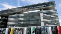 Le siège de France Télévisions qui regroupe France 2, France 3, France 4, France Ô et France Info channels, à Paris le 4 septembre 2017 [LUDOVIC MARIN / AFP/Archives]