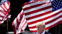 Le président américain Donald Trump a relancé la confrontation commerciale avec la Chine [Brendan Smialowski / AFP/Archives]