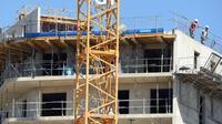 Immeuble en construction  le 17 août 2015 à Montpellier [Pascal Guyot / AFP/Archives]