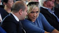Marine le Pen et David Rachline, à Fréjus le 18 septembre 2016  [Franck PENNANT / AFP/Archives]