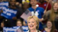 La candidate démocrate Hillary Clinton lors d'un meeting à Columbia (Caroline du Sud), aux Etats-Unis, le 27 février 2016 [Nicholas Kamm / AFP]