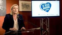 Marine Le Pen présente le manifeste de son parti pour les régionales à Amiens le 23 novembre 2015  [DENIS CHARLET / AFP]