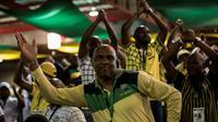 Des délégués du parti ANC au pouvoir en Afrique du sud, le 17 décembre 2017 à Johannesburg  [GULSHAN KHAN  / AFP]