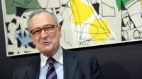 Le président l'Inserm André Syrota à Paris le 20 février 2013 [Miguel Medina / AFP/Archives]