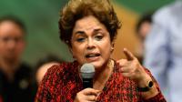 La présidente du Brésil Dilma Rousseff, le 24 août 2016 à Brasilia [ANDRESSA ANHOLETE / AFP/Archives]